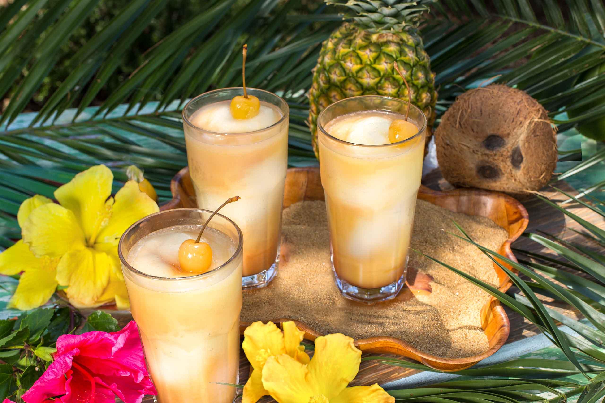 pineapple coconut swirl