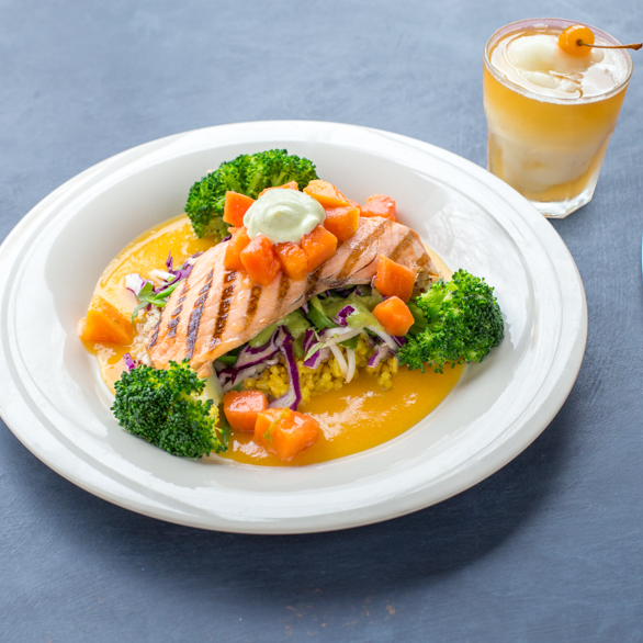 West Coast Salmon From The Main Menu With British Columbia