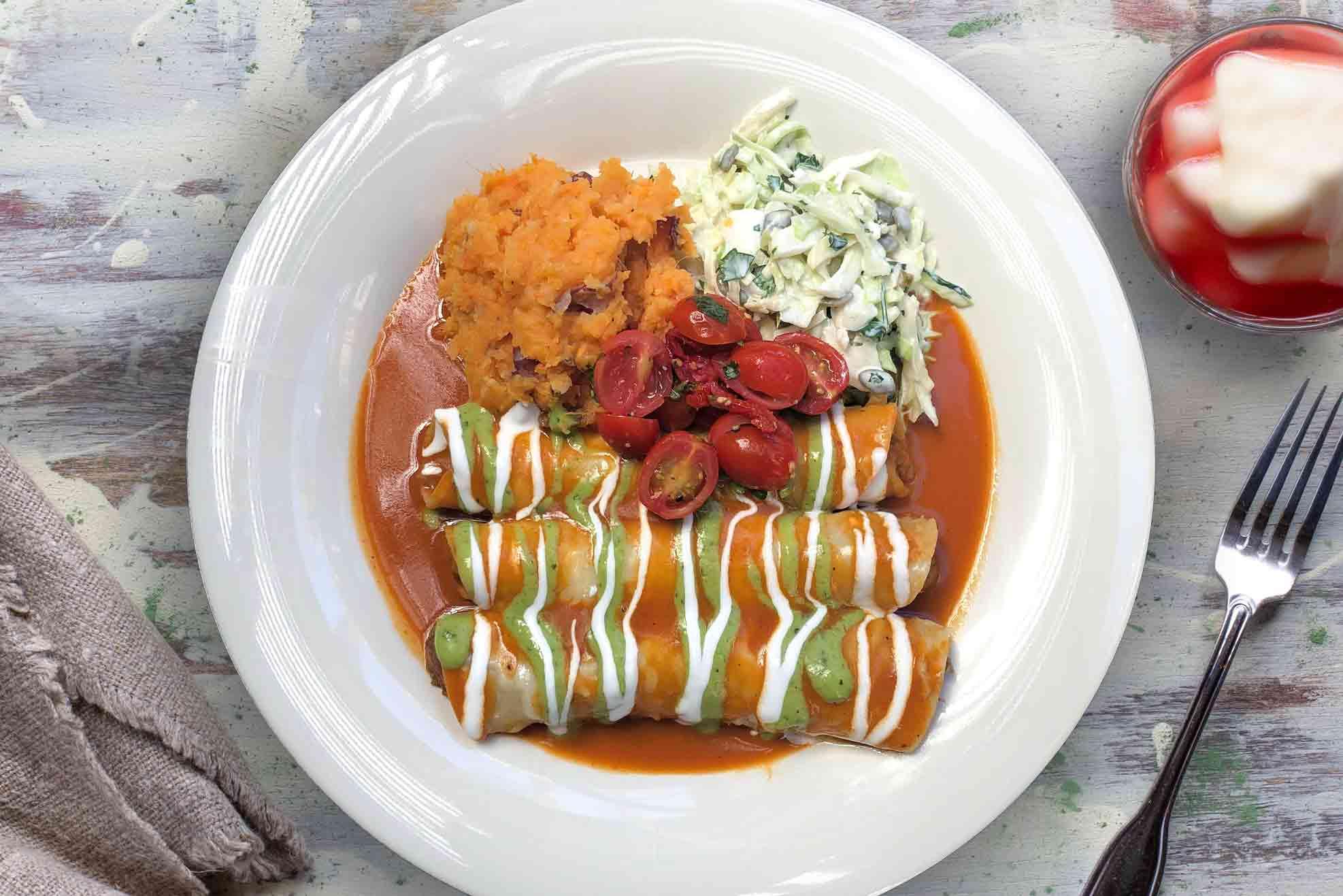 Filet Mignon Enchiladas Weekly Special