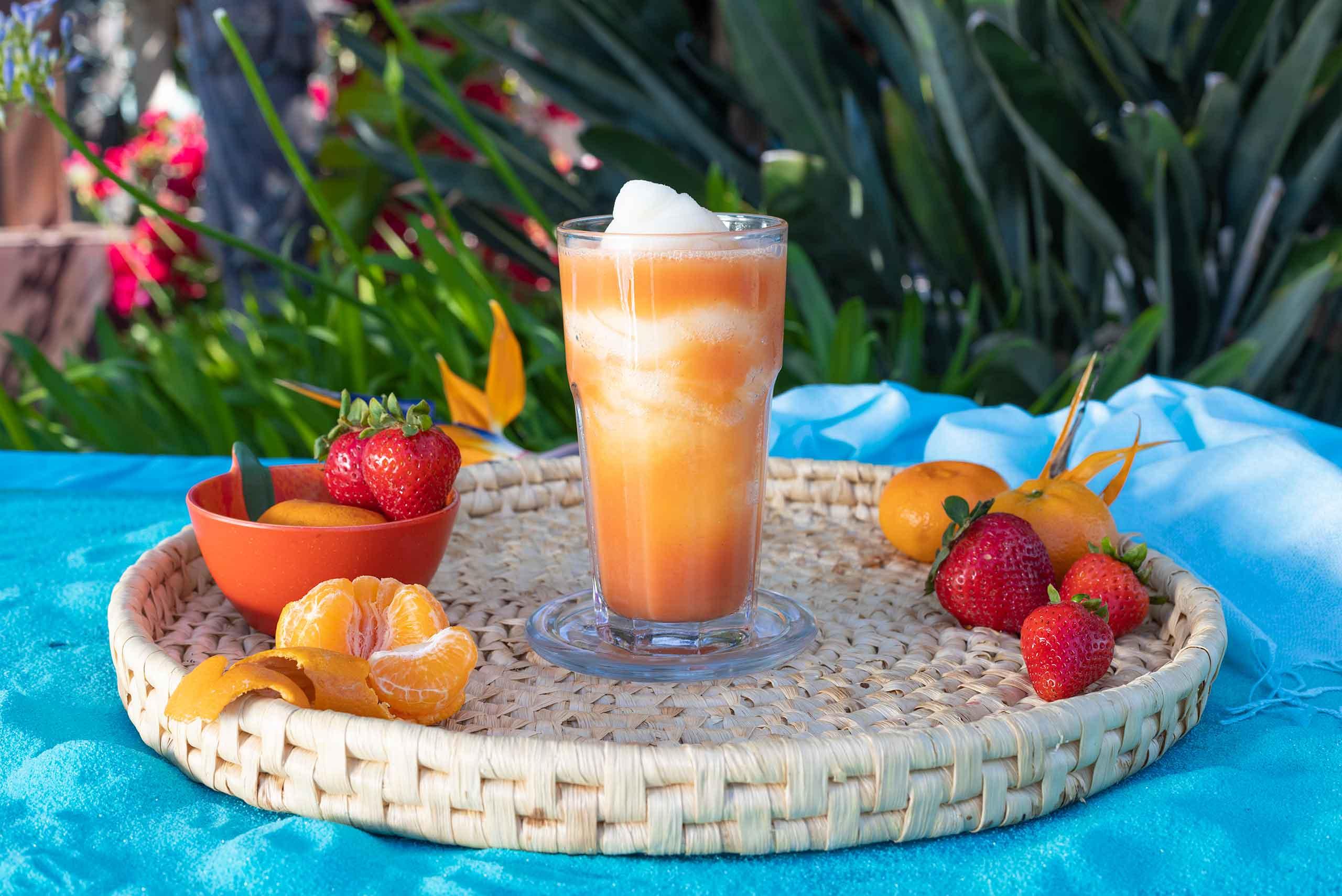 Tito's Strawberry Tangerine Swirl