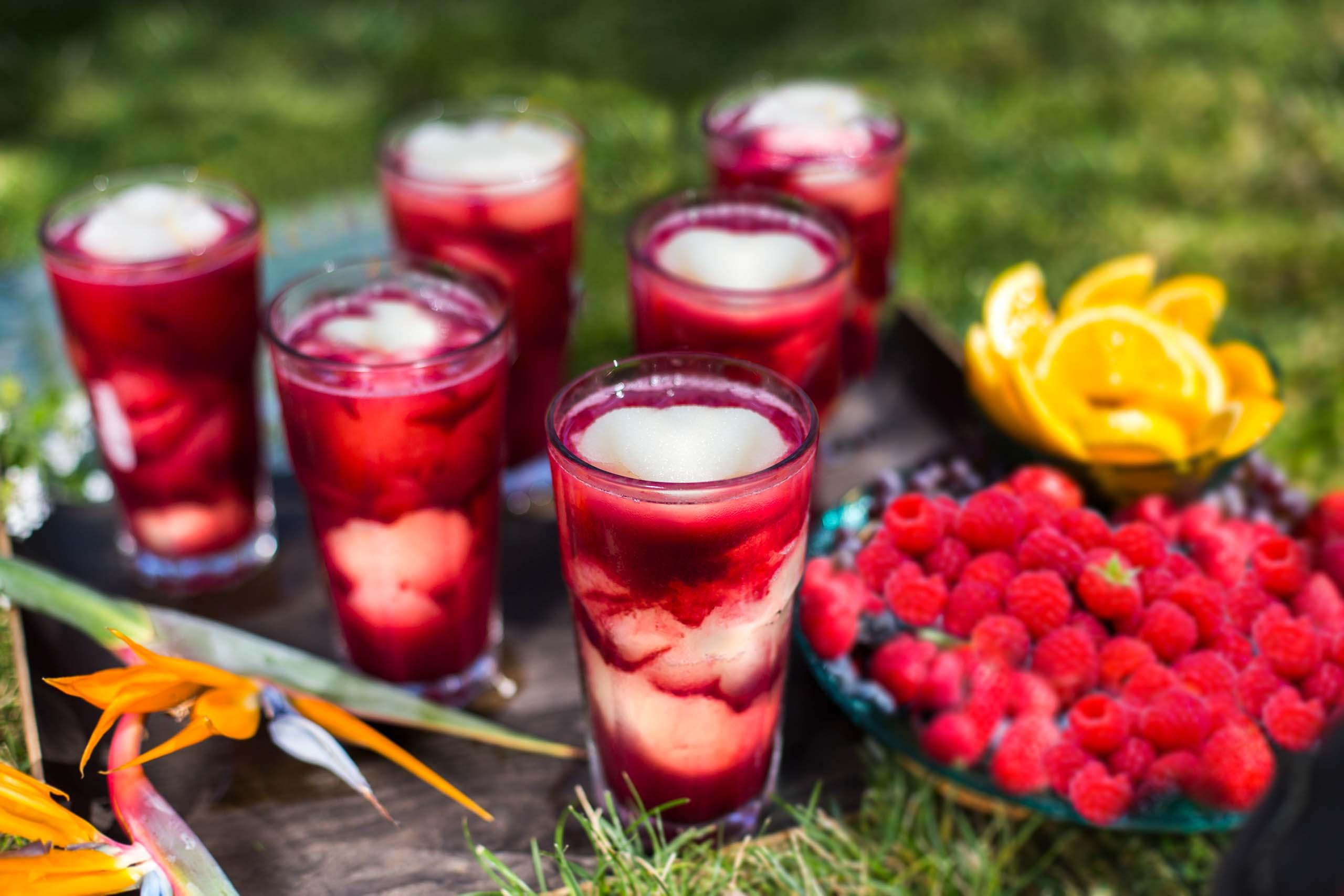 Bombay Raspberry Lemonade Swirl Photo