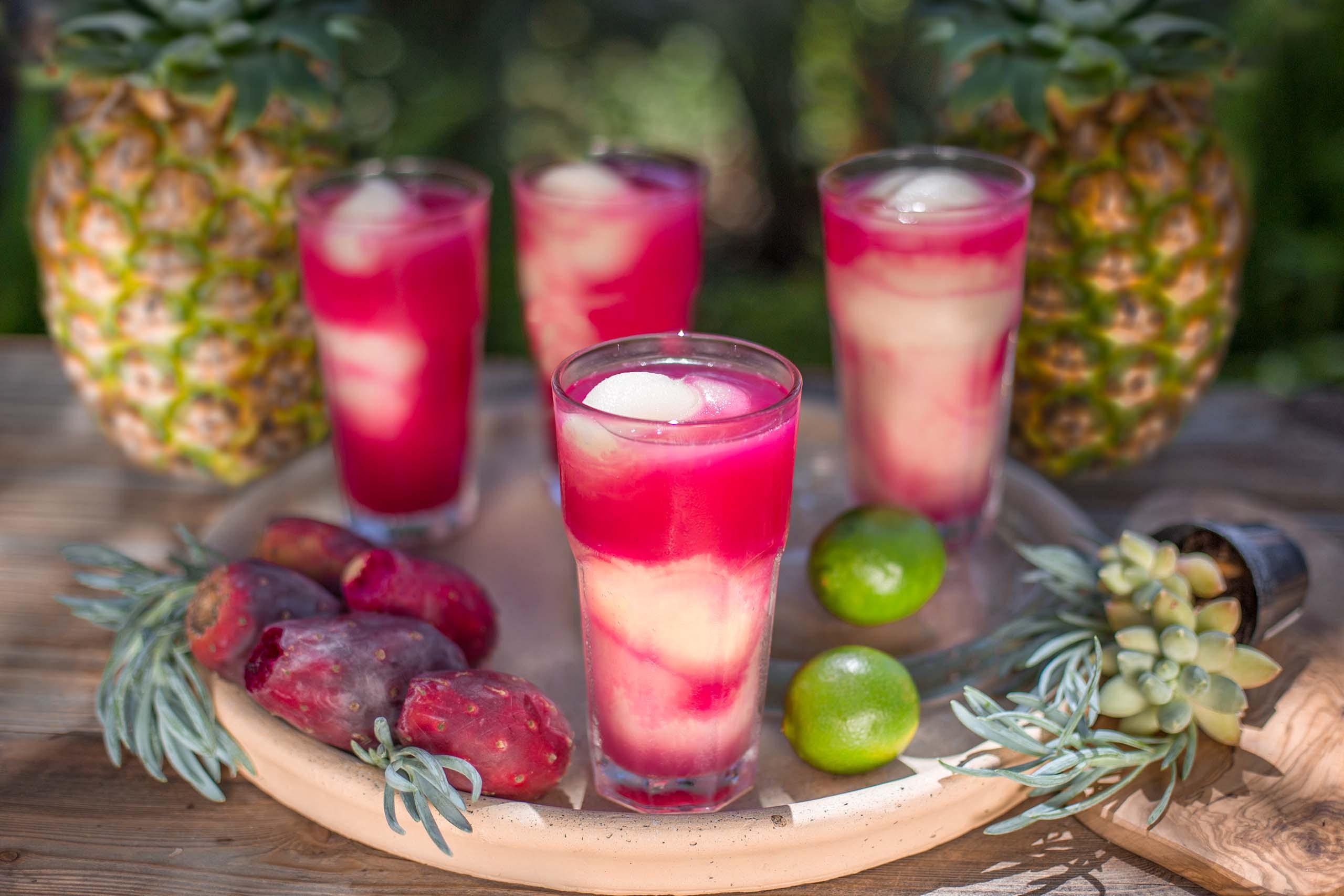 Tito's Prickly Pear Pineapple Swirl Photo